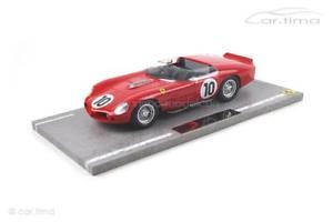 【送料無料】模型車 モデルカー スポーツカーフェラーリルマンヒルモデルferrari 250 tr61 24h le mans 1961gendebienhillbbr models 118 b