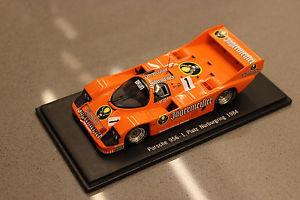 【送料無料】模型車 モデルカー スポーツカースパークスケールベルポルシェニュルブルクリンク#spark 143 scale cabel09 porsche 956 nrburgring 1984 1