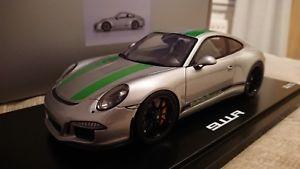 【送料無料】模型車 モデルカー スポーツカーポルシェモデル118 991 911r genuine porsche model *1 of 911*