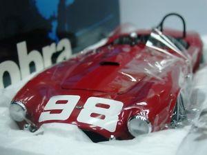 【送料無料】模型車 モデルカー スポーツカーワウシェルビーコブラ#クラウゼラwow extremely rare ac shelby cobra 260 098 b krause la gp usrrc 1962 118 exoto