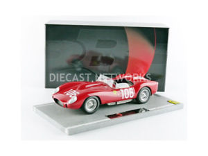 【送料無料】模型車 モデルカー スポーツカーフェラーリタルガフロリオbbr 118 ferrari 250 trtarga florio 1958bbrc 1801