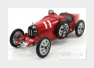 【送料無料】模型車 モデルカー スポーツカーブガッティ#プロジェクトイタリアモデルbugatti t35 11 nation coulor project italy 1924 red cmc 118 m100b001 model