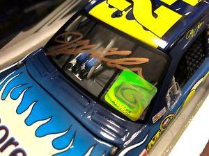 【送料無料】模型車 モデルカー スポーツカージェフゴードンホログラム??2008 jeff gordon signed nicorette ice car with hologram amp; coa 1 of