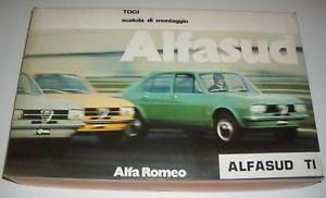 【送料無料】模型車 モデルカー スポーツカーキットアルファロメオドアビンテージレア123 togi kit alfa romeo alfasud ti 2 doors open 1980 red mib vintage rare