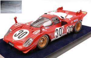 【送料無料】模型車 モデルカー スポーツカーフェラーリ#デイトナモレッティferrari 512 s 30 accid 24 h daytona 1970 manfredinimoretti wdisplay 118