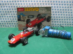 【送料無料】模型車 モデルカー スポーツカービンテージサーボフェラーリフォーミュラリモコンステアリングrare vintage schuco servo ferrari formula 2electric remote steering 5312