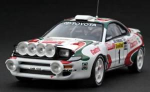 【送料無料】模型車 モデルカー スポーツカートヨタセリカカンクネンラリーモンテカルロhpi 8173 143 toyota celica kankkunen rally montecarlo 1994 night rare