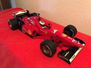 【送料無料】模型車 モデルカー スポーツカーフェラーリミハエルシューマッハフランス112 ferrari f31021996michael schumacher, no 1gp france