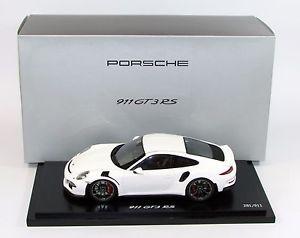 【送料無料】模型車 モデルカー スポーツカーポルシェグアテマラホワイトスパークporsche 911 gt3 rs white 118 wap 0219120h spark