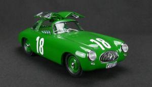 【送料無料】模型車 モデルカー スポーツカーメルセデスベンツベルン#グリーンカールmercedesbenz 300 sl gp bern, 1952 18 green karl kling 118 m158 cmc