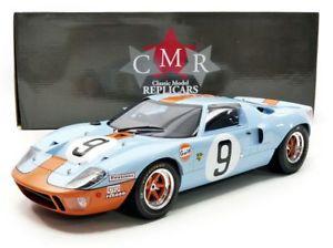 【送料無料】模型車 モデルカー スポーツカーフォード#ロドリゲスモデルford gt40 mk 9 winner lm 1968 p rodriguezl white 112 model cmr