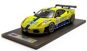 【送料無料】模型車 モデルカー スポーツカーフェラーリグアテマラ#チームリシコンペティツィオーネルマンferrari f430 gt2 99 team risi competizione 24h le mans 2007 bbr 118 ab18006 mo