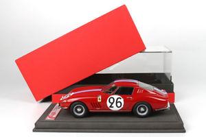 【送料無料】模型車 モデルカー スポーツカーフェラーリ#ルマンショーケースモデルferrari 275 gtb nart 26 le mans 1966 with showcase bbr 118 bbr1825v model