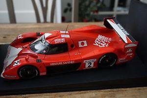 【送料無料】模型車 モデルカー スポーツカートヨタグアテマラルマン#118 autoart 89987 toyota gt1 ts020 le mans 1999 2
