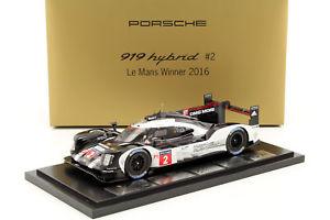【送料無料】模型車 モデルカー スポーツカーポルシェハイブリッド#ルマンデュマレオンporsche hybrid 919 2 winner 24 h lemans 2016 love, dumas, leon with