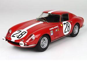 【送料無料】模型車 モデルカー スポーツカーフェラーリルマンスクーデリアferrari 275 gtb 24h le mans gt scuderia filipinetti 118 bbr1828 bbr
