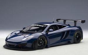 【送料無料】模型車 モデルカー スポーツカーマクラーレングアテマラautoart 81344 mclaren mp412c gt3 azure blue