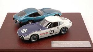 【送料無料】模型車 モデルカー スポーツカートヨタトワイライトターコイズセットレーシングtoyota 2000gt 1968 scca 23 amp; mf12l twilight turquoise 2 car set 143 hpi racing