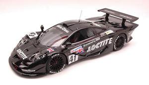 【送料無料】模型車 モデルカー スポーツカーマクラーレン#ルマンカペッロピロレーシングmclaren f1 gtr 41 28th le mans 1998 bscher capello pirro 118 8864 hpi racing