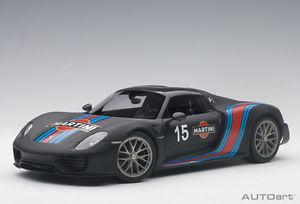 【送料無料】模型車 モデルカー スポーツカーポルシェスパイダー#パッケージマティーニブラック