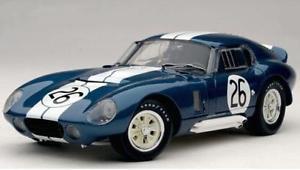 【送料無料】模型車 モデルカー スポーツカーコブラデイトナクーペ#ランスexoto cobra daytona coup 26 winner 12h reims 1965 rare