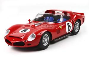【送料無料】模型車 モデルカー スポーツカーフェラーリトライクモ#ルマンferrari 330 tri lm spider 40l v12 6 winner 24h le mans 1962 bbr 118 bbrc1803