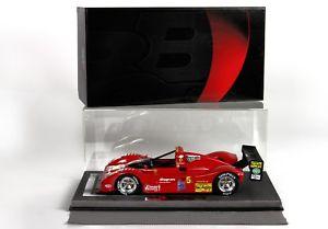 【送料無料】模型車 モデルカー スポーツカーフェラーリferrari 333 sp bioscalin imsa 118 bbrc1819d bbr