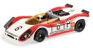 【送料無料】模型車 モデルカー スポーツカーポルシェスパイダーキロニュルブルクリンクリンスporsche 90802 spyder 6 1000 km nrburgring 1969 lins attwood