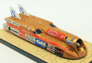 【送料無料】模型車 モデルカー スポーツカースケールモデルカースラストリチャードノーブルbizarre 143 scale model car bz258thrust ii lsr 1983 1046kmh richard noble