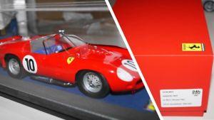 【送料無料】模型車 モデルカー スポーツカールマンferari tr61le mans winner 1961 118
