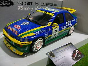 【送料無料】模型車 モデルカー スポーツカーフォードエスコートコスワースモンテカルロモデルford escort rs cosworth monte carlo kim 1996 1st au 118 d ut models 180968203