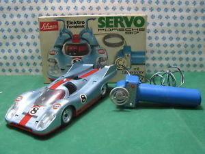 【送料無料】模型車 モデルカー スポーツカービンテージサーボポルシェレアrare vintage schuco servoporsche 917elektrofernlenk 356 216