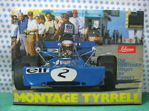 【送料無料】模型車 モデルカー スポーツカーティレルモンタージュミントschuco 225 196 tyrrell montage formel 1  mint