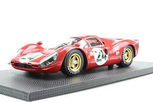 【送料無料】模型車 モデルカー スポーツカーフェラーリデイトナパークトップメーカferrari 330 p4 24h daytona 1967scarfiottipark 1 of 150 118 top marque
