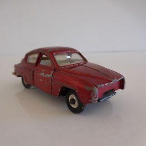 【送料無料】模型車 モデルカー スポーツカーイングランドミニチュアカーminiature car because saab 96 meccano ltd dinky toys made in england