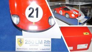 【送料無料】模型車 モデルカー スポーツカースケールferari 250 lm winner 118 scale