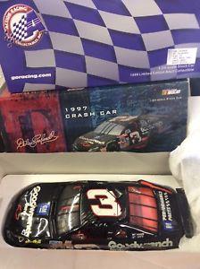 【送料無料】模型車 モデルカー スポーツカーデイルアーンハートクラッシュdale earnhardt 1997 crash car 124 rare free shipping
