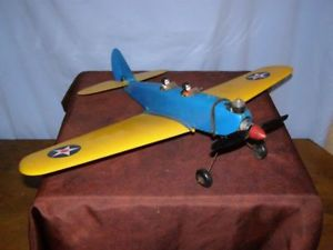 【送料無料】模型車 モデルカー スポーツカーコックスフライトトレーナーancien jouet cox avion pt19 flight trainer moteur thermique, anne 1968 de