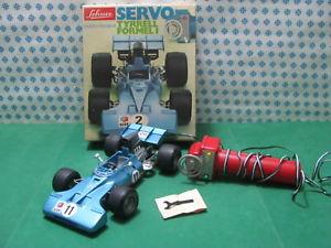 【送料無料】模型車 モデルカー スポーツカービンテージサーボリモコンステアリングrare vintage schuco servo tyrrel formula 1electric remote steering 356 217