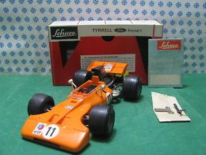 【送料無料】模型車 モデルカー スポーツカービンテージティレルミントlarge rare vintage schuco tyrrell formel 1very limited mint