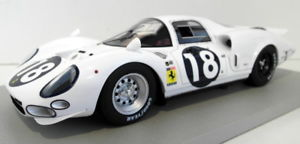 【送料無料】模型車 モデルカー スポーツカーテクノモデルフェラーリホワイトエレファント#techno model 118 scaleresin tm1817b ferrari 365 p2 white elephant lm 1966 18