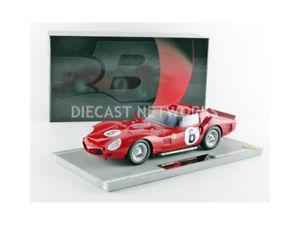 【送料無料】模型車 モデルカー スポーツカーフェラーリトリプルルマンbbr 118 ferrari 330 triwinner le mans 1962bbrc 1803