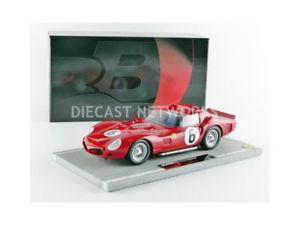 【送料無料】模型車 モデルカー スポーツカーフェラーリトリプルルマンbbr 118 ferrari 330 tri winner le mans 1962 bbrc1803