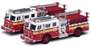 【送料無料】模型車 モデルカー スポーツカーコードレスキューニューヨークモデルjm 2121849 code 3 cod12208 fire rescue york 164 pz2 model
