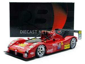 【送料無料】模型車 モデルカー スポーツカーフェラーリbbr 118 ferrari 333 sp bioscalin imsa 1994 bbrc1819dv