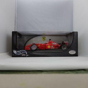 【送料無料】模型車 モデルカー スポーツカーホットホイールレーシングミハエルシューマッハレーシング118, hot wheels racing, farrari f2001, michael schumacher, 2001 racing