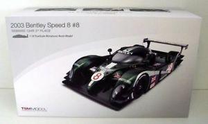 【送料無料】模型車 モデルカー スポーツカーモデルスケールベントレースピード#セブリングtsm model 118 scaletsm131811r 2003 bentley speed 8 8 sebring 12h 3rd place