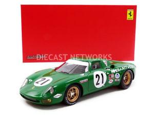 【送料無料】模型車 モデルカー スポーツカーフェラーリルマンlooksmart 118 ferrari 250 lm le mans 1968 ls18lm08
