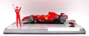 【送料無料】模型車 モデルカー スポーツカーホットホイールフェラーリライコネンモデルjm2122526hot wheels hwm0551 ferrari k raikkonen 2007 drivc 1 18 model