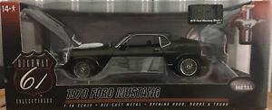【送料無料】模型車 モデルカー スポーツカーダークアイビーグリーンスケールフォードムスタングマッハ#highway 61 118 scale 1970 ford mustang mach 1 50586 in dark ivy green